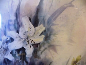 """Wildflower Lithograph, Signed by Brent Heighton """"Spring Lilies"""" Stratford Kitchener Area image 7"""