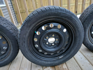 4 goodyear tires with rims for sale need to sell ASAP
