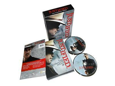 Justified Complete Series Box Set Season One-Six 1-6 DVD Free Shipping