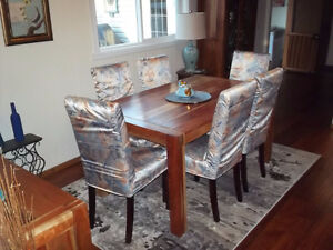 Stylish, Rare Wood, Dining & Living Room Furniture