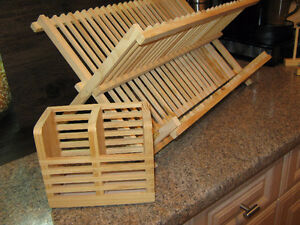 IKEA DISH DRYING RACK with UTENSIL HOLDER Regina Regina Area image 4