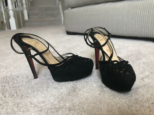 Authentic Christian Louboutin Heels 38