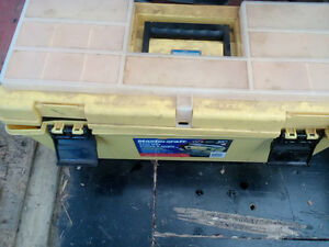 LARGE TOOL BOX WITH LOTS OF TOOLS