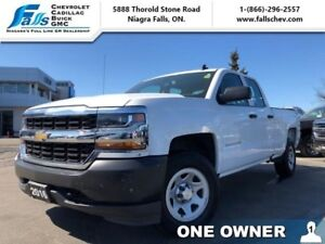 2016 Chevrolet Silverado 1500 1WT  4X4,DBL CAB,5.3L,BLUETOOTH,ON