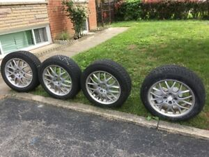 Winter tire and Alloy Rims