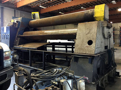 Used Kumlabackteman 10 X 1 Plate Roll