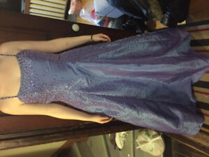 Prom Dress Size 16 Purple