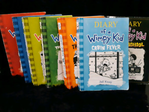 """Diary of a Wimpy Kid"" Books"