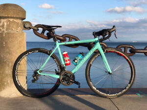 2017 Bianchi Specialissima 55cm with EPS3 SuperRecord