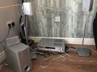 Old school surround sound system