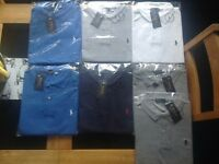 Ralph Lauren polos large or XL new with tags in packaging