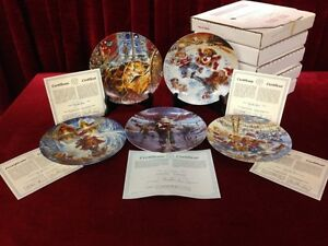 The Joys of Childhood Collector Plates 1-9, 4 MORE LIMITED Windsor Region Ontario image 6