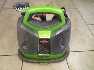Bissell 5207L Little Green Proheat Portable Deep Cleaner.