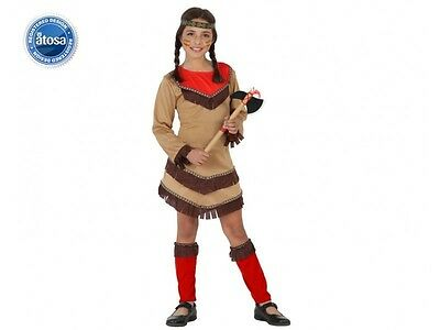 Costume Girl Indian 10/11/12 Years Child Western Indian NEW Cheap - Cheap Costumes Kids