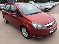 2006 VAUXHALL ZAFIRA 1.6i Club 7 SEATER 12 MONTHS MOT and WARRANTY AVAILABLE
