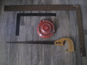 Screwdriver/nut set-Key Hole Saw and Framing Squares