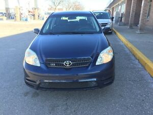 2004 Toyota Matrix Hatchback. VERY CLEAN, FULLY CERTIFIED.