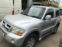 Mitsubishi Shogun 3.2TD DI-D Equippe 53 reg for sale