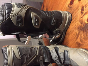 Thor dirt bike boots size 8
