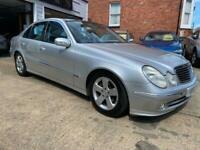 2003 Mercedes-Benz E-CLASS 2.7 E270 CDI AVANTGARDE 4d 177 BHP Saloon Diesel Auto