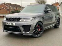 2018 Land Rover Range Rover Sport 5.0 V8 S/C 575 SVR 5dr Automatic Petrol Estate