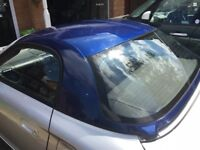 MR2 hardtop incl fixing kit, pre cut plastics and heater cable