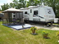 28 FT. CHEROKEE TRAILER AT CAMPGROUND (SEASON PAID)