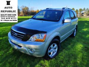 2008 Kia Sorento LX, 4x4, 6 cyl, <<WOW ONLY 106K KMS>> Certified