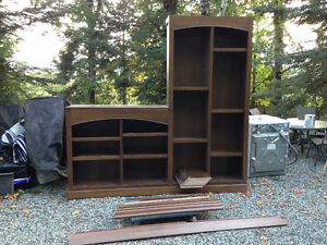 Bookcase/Wall unit - Solid, Beautiful, Well build, FREE DELIVERY