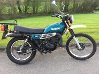 1979 Suzuki TS250