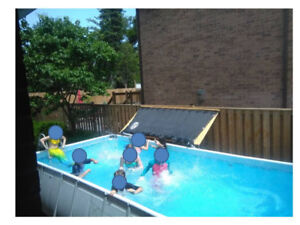 Easy set up pool - 9ft x 18ft x 42 inches