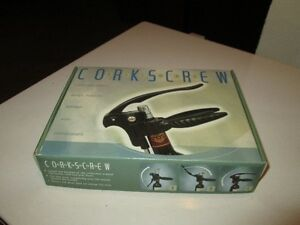 Deluxe cork screw