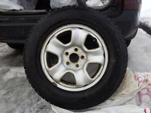 Winter tires and Rims - 215/70r16