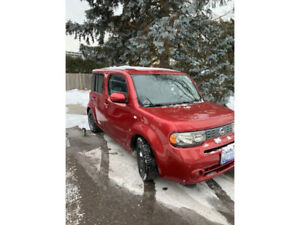 NISSAN CUBE - RED