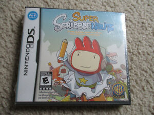 Nintendo DS game Super Scribble Nauts never opened