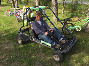 Barn Sale and Garage Sale and go-kart (dune buggy)
