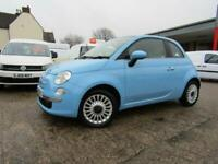 2012 FIAT 500 1.2 LOUNGE PANORAMIC ROOF - CHEAP TAX - BLUETOOTH - RAC WARRANTY