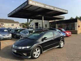 2008 58 HONDA CIVIC 1.8 I VTEC TYPE S 3DR