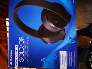 Wireless headset for Playstation