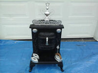 Extremely Old Franklin Palour Woodstove