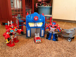 Transformers Rescue Bots - Like New!
