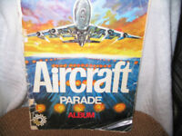 AIRCRAFT PARADE ALBUM  TIMBRES AUTO-COLLANTS,OBSERVER'S AIRCRAFT