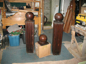 antique newell posts