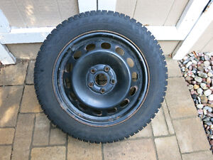 Pirelli Winter Carving Edge Tires on rims Size 205/55/R16 91T
