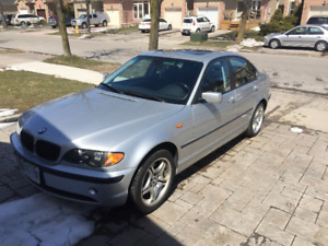 2005 BMW 325XI Sedan- clean and well maintained