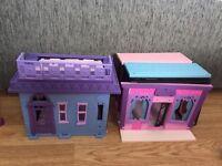 Two littlest pet shop houses