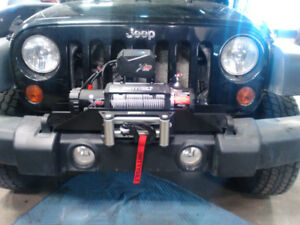 9500LBS WINCH AND WINCH PLATE FOR JEEP JK