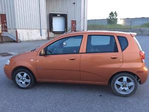 2008 chevrolet aveo certified + etested winter and summer tires