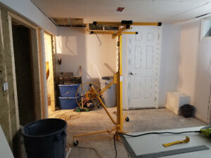 Drywall lift for rent