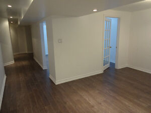 2 Bedroom Spacious Basement Freshly Renovated in Richmond Hill
